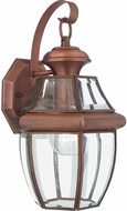 Quoizel NY8316AC Newbury Aged Copper Outdoor 8  Wall Lamp