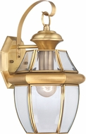 Quoizel NY8316B Newbury Polished Brass Outdoor 8  Wall Lighting