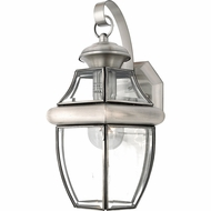 Quoizel NY8316P Newbury Pewter Outdoor 8  Wall Lighting Sconce