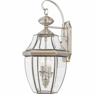 Quoizel NY8317P Newbury Pewter Outdoor 10.5  Wall Sconce Light