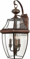 Quoizel NY8318AC Newbury Aged Copper Outdoor 12.25 Lighting Wall Sconce