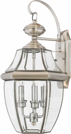 Quoizel NY8318P Newbury Pewter Outdoor 12.25 Wall Sconce Lighting