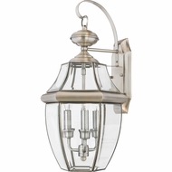 Quoizel NY8318P Newbury Pewter Outdoor 12.25  Lighting Sconce