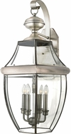 Quoizel NY8339P Newbury Pewter Outdoor 16 Wall Light Sconce