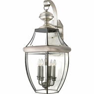 Quoizel NY8339P Newbury Pewter Outdoor 16 Wall Sconce Lighting
