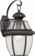 Quoizel NY8409ZFL Newbury Medici Bronze Fluorescent Exterior Wall Mounted Lamp