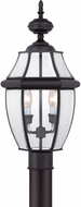 Quoizel NY9042K Newbury Mystic Black Outdoor 11  Lighting Post Light