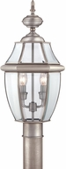 Quoizel NY9042P Newbury Pewter Outdoor 11  Post Light Fixture