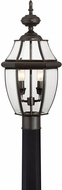 Quoizel NY9042Z Newbury Medici Bronze Outdoor 11  Post Lighting Fixture