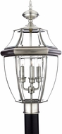 Quoizel NY9043P Newbury Pewter Outdoor 12.5  Post Lighting