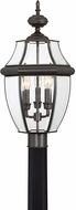 Quoizel NY9043Z Newbury Medici Bronze Outdoor 12.5  Post Lamp