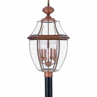 Quoizel NY9045AC Newbury Aged Copper Outdoor 16  Post Light