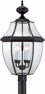 Quoizel NY9045K Newbury Mystic Black Outdoor 16  Post Light