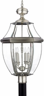 Quoizel NY9045P Newbury Pewter Outdoor 16  Lighting Post Light