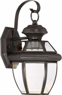 Quoizel NYCL8407Z Newbury Clear Medici Bronze LED Outdoor 7 Wall Lamp