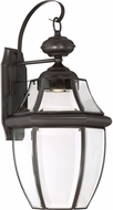Quoizel NYCL8411Z Newbury Clear Medici Bronze LED Outdoor 11 Lighting Sconce