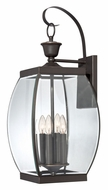 Quoizel OAS8411Z Oasis Extra Large Medici Bronze Wall Sconce Light Fixture