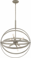Quoizel OCL2823WM Oculus Contemporary Weathered White Maple Ceiling Light Pendant