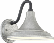 Quoizel OFT8410GV Oceanfront Galvanized Outdoor 10  Lamp Sconce