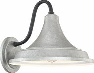 Quoizel OFT8414GV Oceanfront Galvanized Outdoor 14  Wall Light Fixture