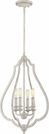 Quoizel OKF5216AWH O'Keefe Antique White Pendant Light