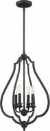 Quoizel OKF5216MBK O'Keefe Matte Black Lighting Pendant