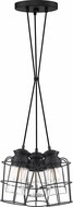 Quoizel OLN2603EK Olson Contemporary Earth Black Multi Drop Ceiling Light Fixture