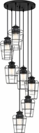 Quoizel OLN2707EK Olson Contemporary Earth Black Multi Lighting Pendant