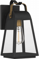 Quoizel OLY8406EK O'Leary Earth Black Outdoor Wall Mounted Lamp