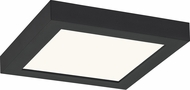 Quoizel OST1608EK Outskirts Contemporary Earth Black LED 7.5  Ceiling Light Fixture