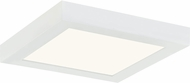Quoizel OST1608W Outskirts Contemporary White Lustre LED 7.5  Ceiling Lighting Fixture
