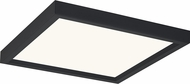 Quoizel OST1611EK Outskirts Modern Earth Black LED 11  Ceiling Light Fixture