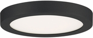 Quoizel OST1708EK Outskirts Earth Black LED 7.5  Overhead Lighting Fixture