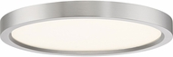 Quoizel OST1711BN Outskirt Modern Brushed Nickel LED 11  Ceiling Light Fixture