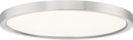 Quoizel OST1715BN Outskirt Contemporary Brushed Nickel LED 15  Flush Lighting
