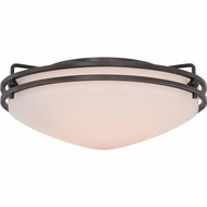 Quoizel OZ1613PN Ozark Palladian Bronze Finish 5.5  Tall Ceiling Light Fixture