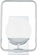 Quoizel PAD8608C Padgett Contemporary Polished Chrome Xenon Wall Lighting Sconce