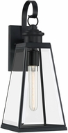 Quoizel PAX8407MBK Paxton Matte Black Exterior Wall Lighting Sconce
