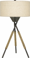 Quoizel PB6324TK Pembroke Tarnished Bronze Side Table Lamp