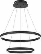 Quoizel PCCA2824EK Cadence Contemporary Earth Black LED Pendant Light Fixture