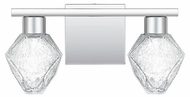Quoizel PCCY8614C Chrysalis Contemporary Polished Chrome LED 2-Light Bathroom Vanity Lighting