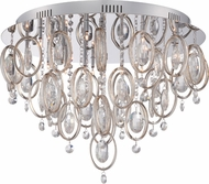Quoizel PCEL1623C Platinum Collection Ella Polished Chrome Xenon Home Ceiling Lighting