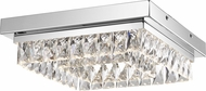 Quoizel PCEM1614C Embrace Polished Chrome LED Flush Lighting