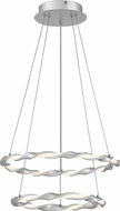 Quoizel PCFN1716DSL Finale Modern Dipped Silver Pendant Light