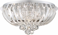 Quoizel PCGN1620C Platinum Collection Glisten Polished Chrome Xenon 19.75  Home Ceiling Lighting