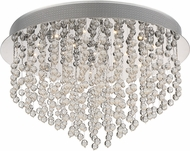 Quoizel PCHE1620C Platinum Collection Highrise Polished Chrome Flush Mount Lighting