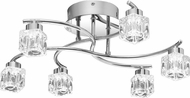 Quoizel PCHL1718C Clear Hollow Polished Chrome LED Overhead Lighting