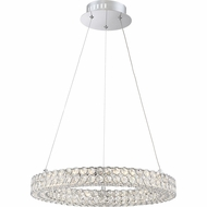 Quoizel PCIN1820C Platinum Collection Infinity Polished Chrome LED Pendant Lighting