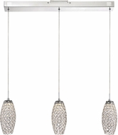 Quoizel PCIN540C Platinum Collection Infinity Polished Chrome LED Multi Ceiling Light Pendant