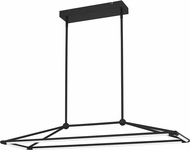 Quoizel PCING143MBK Ingram Modern Matte Black LED Kitchen Island Light